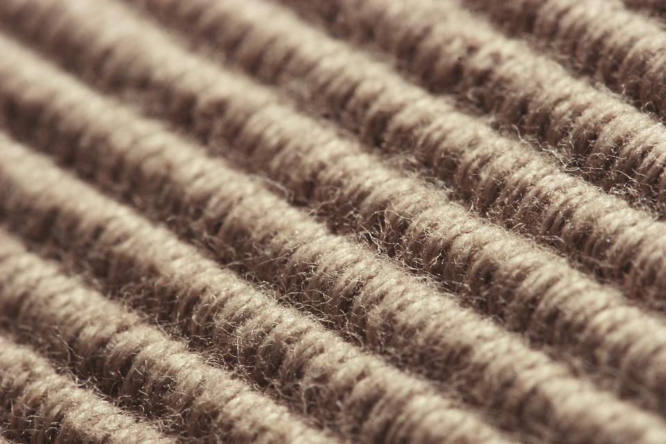 close up of a carpet